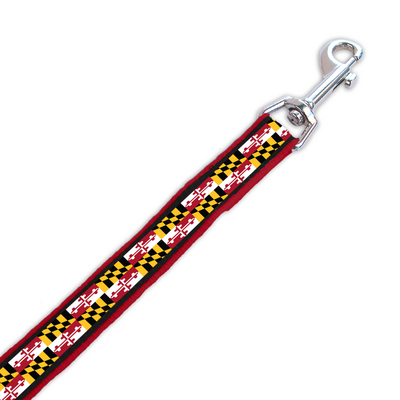 University of Maryland Woven Pet Leash