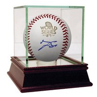 George Springer Signed Baseball (Online Only)