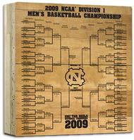 Basketball Engraved 12x12 Bracket  (Online Only)