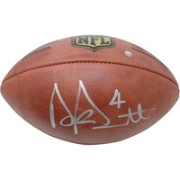 Dak Prescott Signed Football (Online Only)