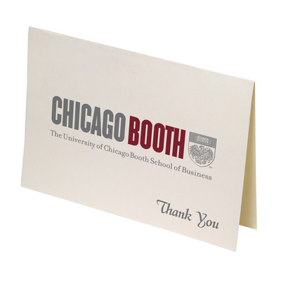 Chicago booth bookstore thank you cards by overly thank you cards by overly colourmoves