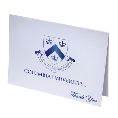 Columbia University Thank You Cards by Overly