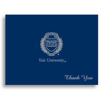 Yale Bulldogs Thank You Cards by Overly