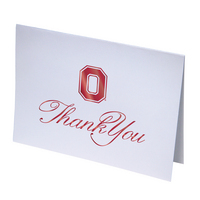 Ohio State Buckeyes Thank You Cards by Overly