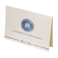 Delaware Blue Hens Thank You Cards by Overly
