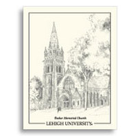 Lehigh Color Sketch Notes by Overly