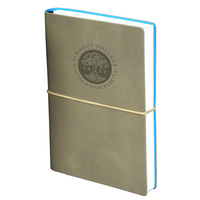 Italian made leather journal