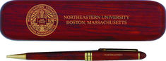 Northeastern Huskies Pen with Rosewood Box