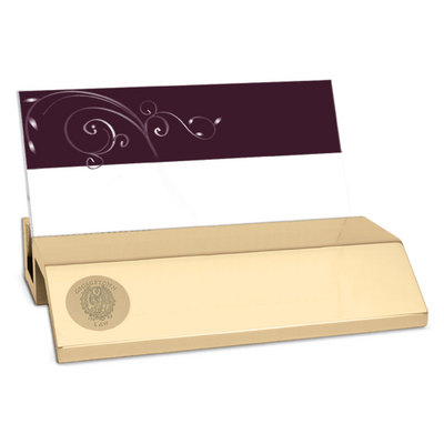 Georgetown university law center bookstore gold desk business card gold desk business card holder colourmoves