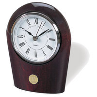 Palm Desk Clock Gold