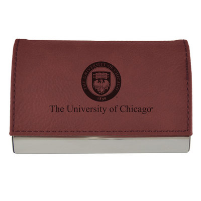 University of chicago bookstore business card holder leather business card holder leather colourmoves Choice Image