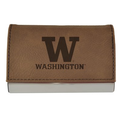 University Of Washington Athletics Husky Team Store Leather