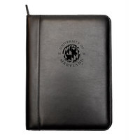 Leather Portfolio Zip