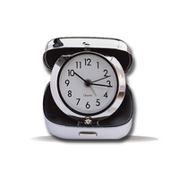 Northeastern Huskies Travel Alarm Clock