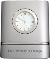 University of Chicago Two Tone Desk Clock