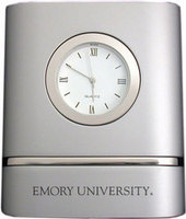 Emory Eagles Two Tone Desk Clock