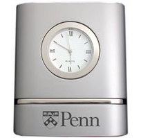 Penn Two Tone Desk Clock