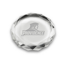 Etched Optic Crystal Paperweight