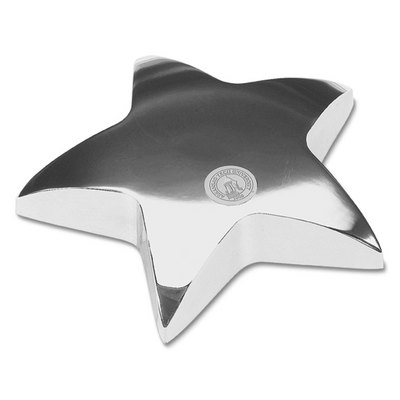Silver Star Paperweight (Online Only)