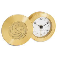 Gold Travel Alarm Clock
