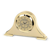 Gold Napoleon Desk Clock (Online Only)