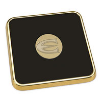 Gold Tone Square Coaster