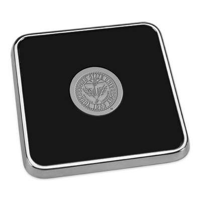 Silver Square Coaster (Online Only)
