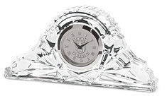 Silver Crystal Clock