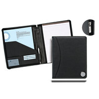 Leather Zip Portfolio