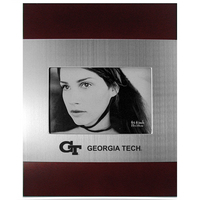 Georgia Tech Cherry Wood and Metal Frame