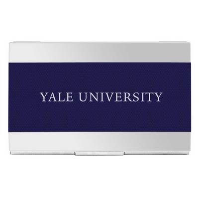 The Yale Bookstore Yale Bulldogs Business Card Holder