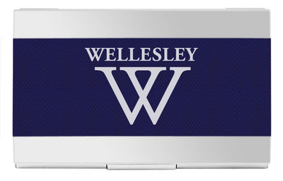 Wellesley college bookstore business card holder business card holder colourmoves