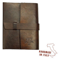 Tab Front Italian Leather Journal  Web Only