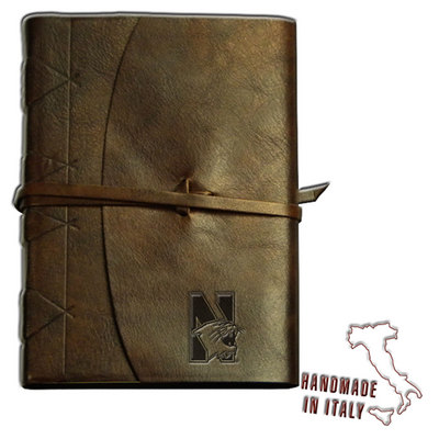 Tie Closure Italian Leather Journal  Web Only