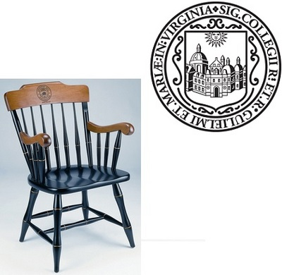 Standard Chair Captains Chair (Online Only)  sc 1 st  College of William and Mary Official Bookstore & William u0026 Mary Bookstore - Standard Chair Captains Chair Online Only