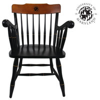 CAPTAINS CHAIR WITH CHERRY CROWN AND ARMS (ONLINE ONLY)
