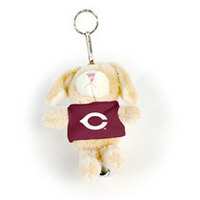 University of Chicago MCM Wild Bunch Plush Keychain