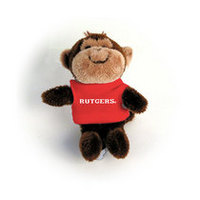 Rutgers Scarlet Knights MCM Wild Bunch Plush Magnet