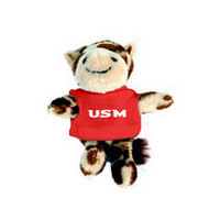 Southern Mississippi Eagles MCM Wild Bunch Plush Magnet