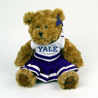 Yale Bulldogs MCM Cheerleader Bear