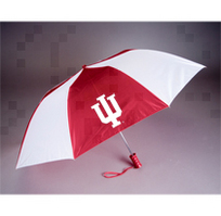 Indiana Hoosiers Automatic Folding Umbrella