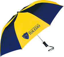 University of Toledo Automatic Folding Umbrella