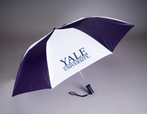 Yale Bulldogs Automatic Folding Umbrella