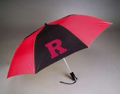 Rutgers Scarlet Knights Automatic Folding Umbrella