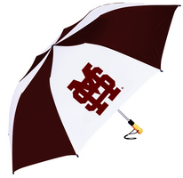 Mississippi State Bulldogs Oversized Deluxe Folding Umbrella