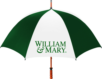 William and Mary Large Golf Umbrella