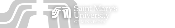 Saint Mary's University of Minnesota Graduate  Logo